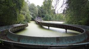 Im Spreepark befindet sich nach wie vor die größte Wasserbahn Europas