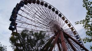 Das Riesenrad im Spreepark