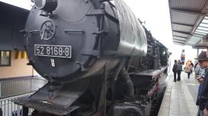 Mit dieser Lok fuhren wir von Dachau nach Altomünster