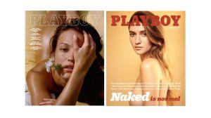Der Playboy im Jahre 2016 (links) und im Jahre 2017 (rechts)